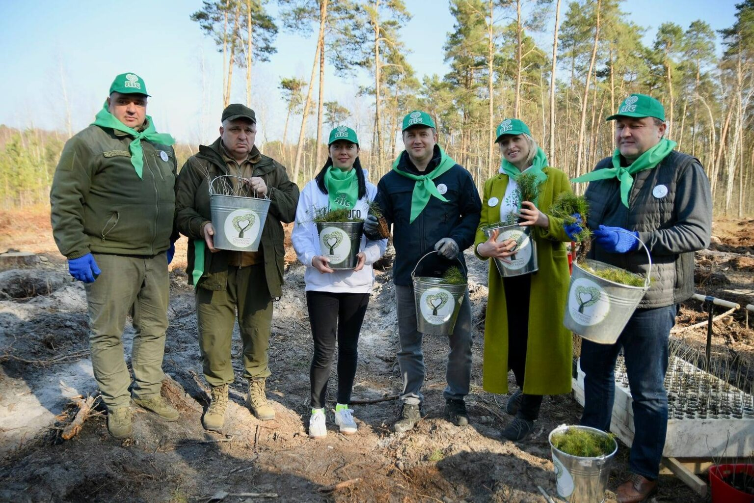 """Rivne region has joined the global initiative """"Greening of the planet"""""""