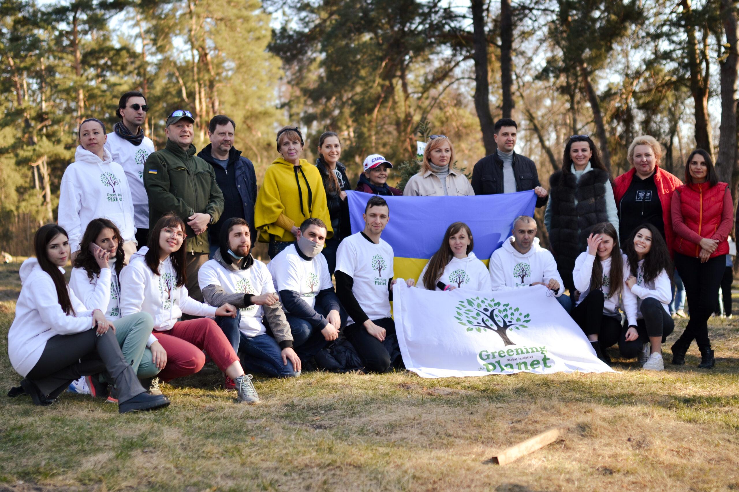Greening of the Planet: За добу висаджено 5,5 млн дерев