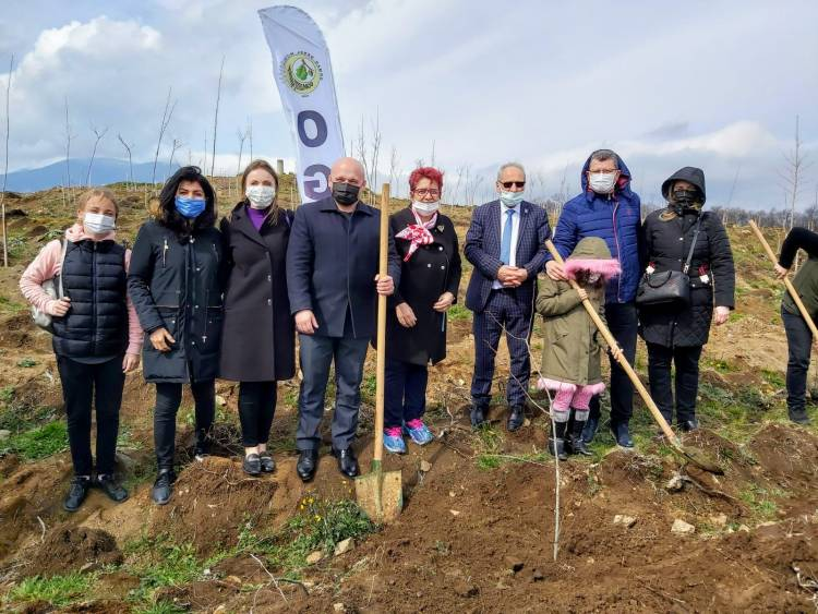 """The Turkish public organization """"Black Sea Association of Ukrainians"""" has joined the """"Greening of the Planet"""""""