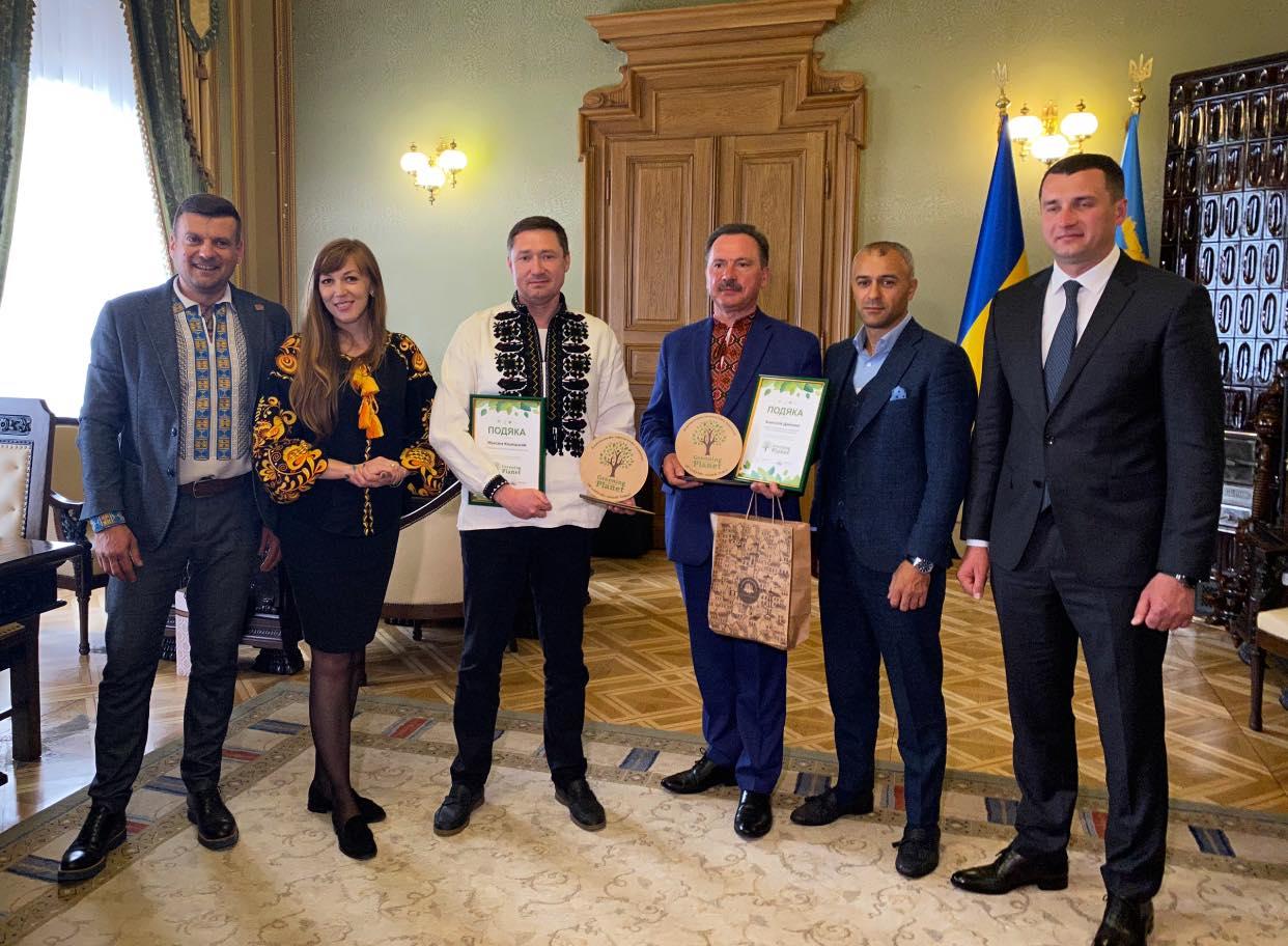 """Ініціатори """"Greening of the Planet"""" відвідали співорганізаторів проєкту у Львівської області"""