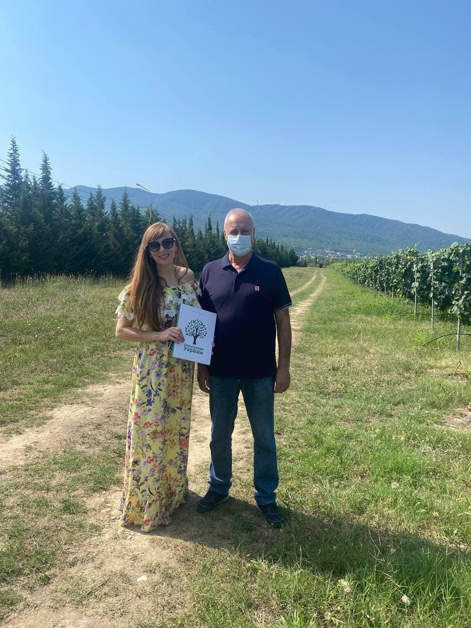 Оргагнізатори проєкту відвідали науково-дослідний центр сільського господарства в Грузії